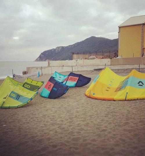 Kite surf in liguria