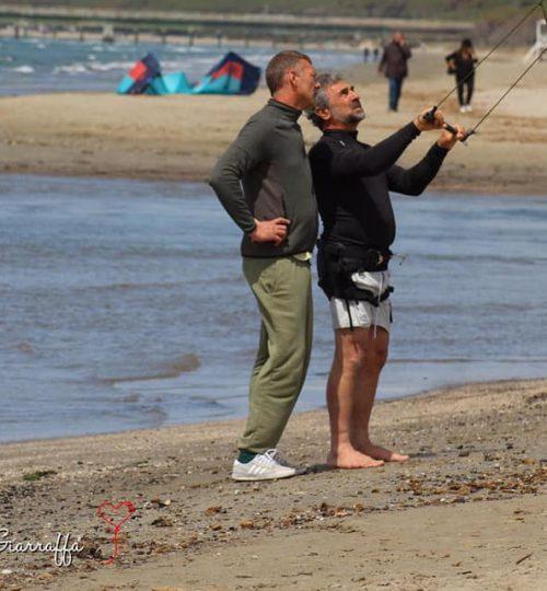 lezione di kite surf per principianti