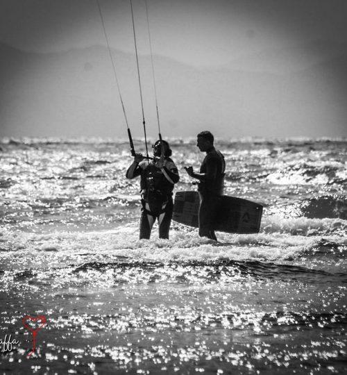 Zena Kite Schoo, corsi di kite surf