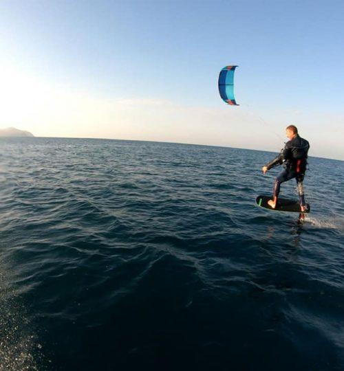 ZKS - kite surf con hydrofoil